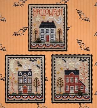 175 Halloween House Trio