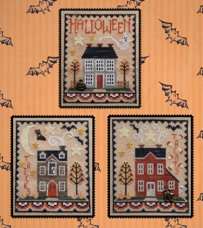 Halloween House Trio