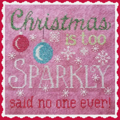 #ML27 A SPARKLY CHRISTMAS