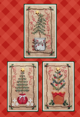 #189 Christmas Tree Trio