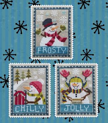 #193 Snowman Trio
