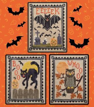 #198 Halloween Critters Trio