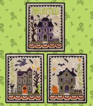 #197 Haunted House Trio